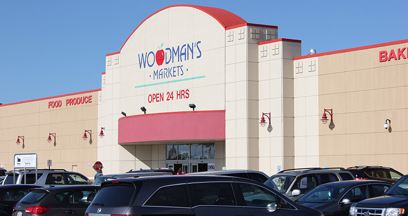 Welcome to Woodman 's, Kenosha, WI