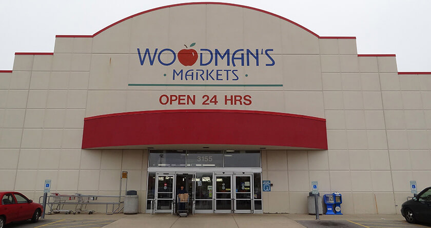 Welcome to Woodman 's, Rockford, IL